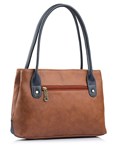 Fostelo Women's Zara Handbag (Tan) (FSB-1051)