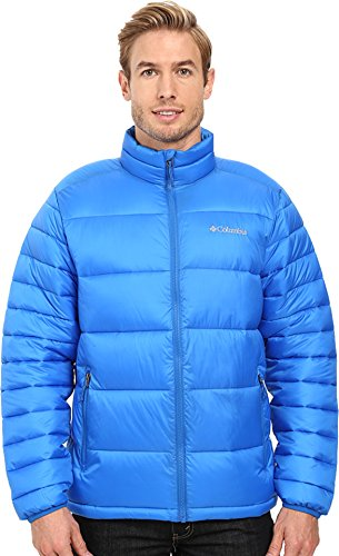 Columbia Men's Frost-Fighter Puffer Jacket, Super Blue, Medium