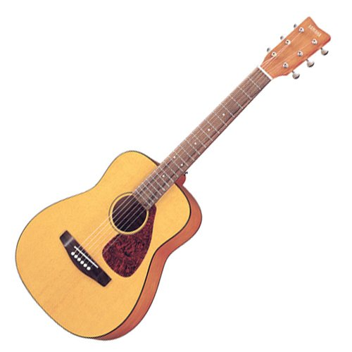 Large Product Image of Yamaha JR1 3/4 Size Steel String Acoustic Guitar Bundle with Gig Bag, Strap, Strings, Winder and Picks