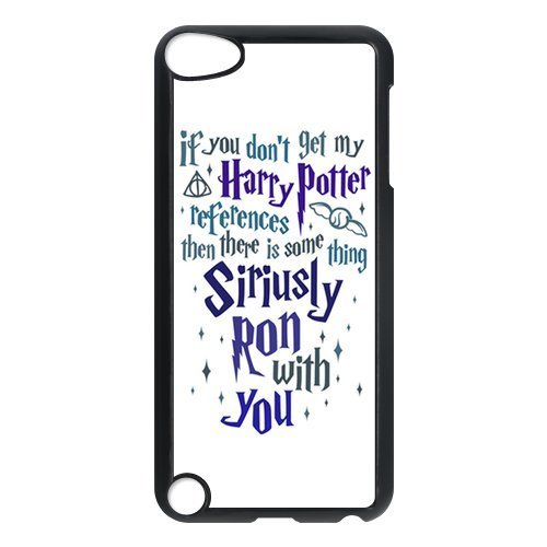 (iPod Touch 5/5th Generation case,Plastic Harry Potter Cover Shell Hard Back Case for Apple iPod Touch 5,Harry Potter Silicone Case Cover for iPod Touch 5 5G 5th Generation)