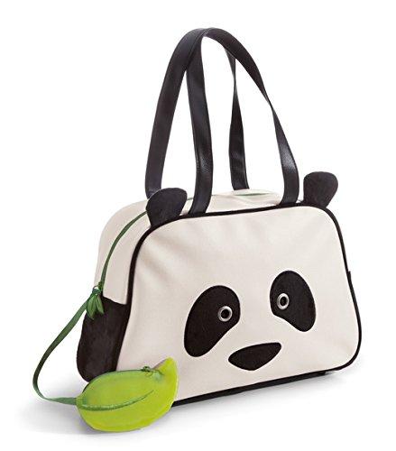 Nici 41096.0 Panda Imitation Leather/Plush Bag