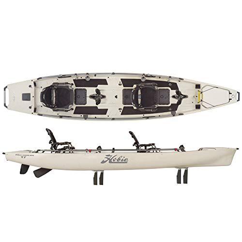 Hobie Mirage Pro Angler 17T Tandem Kayak 2019 Ivory Dune (Best Tandem Fishing Kayak 2019)