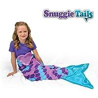 Snuggie Tails Comfy Cozy Super Soft Warm Mermaid Blanket...