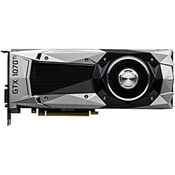 Nvidia GEFORCE GTX 1070 Ti - FE Founders Edition