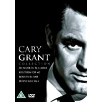 Cary Grant: Studio Star Collection: 4 Movies - An Affair to Remember + Kiss them For me + People Will Talk + Born to be Bad (4-Disc Box Set) (Slipcase Packaging + Fully Packaged Import)