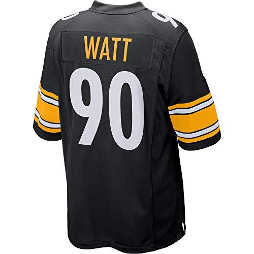 Womens/Mens_Steelers_T.J. Watt_Black_Game_Jersey