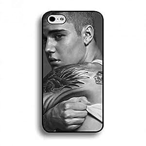 Shell Phone Funda Of Calvin Klein Black Cover,Ck Phone Funda,Calvin Klein Phone Funda IPod Touch 5th,Ck Logo Phone Funda For IPod Touch 5th Justin Bieber Phone Funda