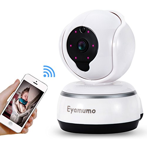 video baby monitor security camera night audio pan tilt zoom recording function. Black Bedroom Furniture Sets. Home Design Ideas