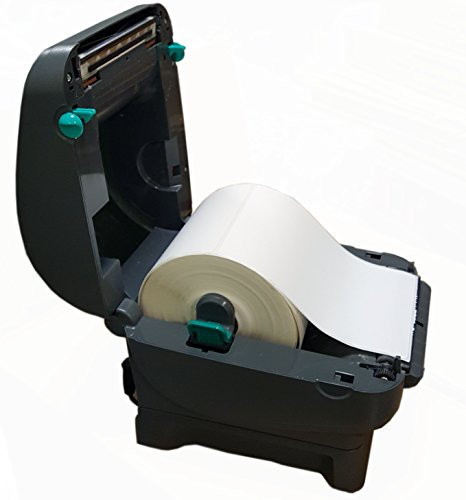iMBAPrice 2 Rolls of 450 Label (USA Made) 4x6 Direct Thermal for Zebra 2844 ZP-450 ZP-500 ZP-505 Shipping Labels Perfect Roll for 1 INCH CORE Thermal Laser Printers by iMBAPrice (Image #3)