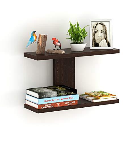 BLUEWUD Stellar Plus Engineered Wood Wall Decor Shelf/Display Rack
