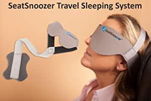 SeatSnoozer - The Most Effective New Travel Pillow and Neck Pillow, a new concept in travel sleep