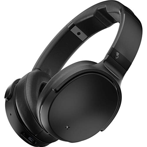 (Skullcandy Venue Active Noise Cancelling Headphones, Over The Ear Bluetooth Wireless, Tile Integration, Rapid Charge 24-Hour Battery Life, Lightweight Premium Materials,)