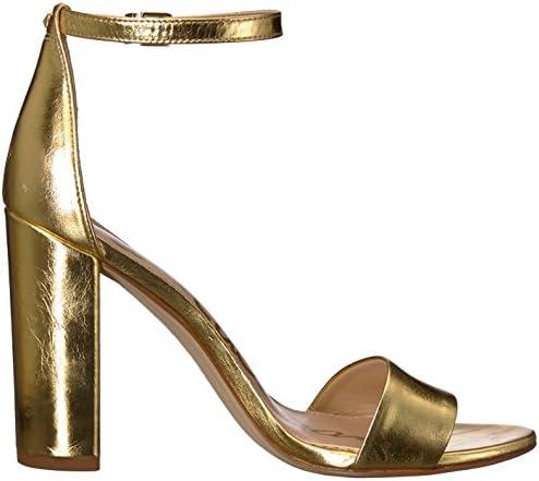 Sam Edelman Yaro Bright Gold/métal Distressed Leather 38 M EU