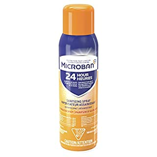 Microban 24 Hour Disinfectant Sanitizing Spray, Citrus Scent
