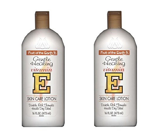 Fruit of the Earth Vitamin-E Lotion, 16 oz, Pack of 2