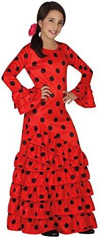 Atosa - Disfraz de flamenca para niña, color rojo, talla XL, 10-12 ...