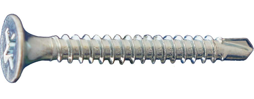 1,500 Count Daggerz DWSDZ10312 10 x 3-1//2#2 Phillips Screw