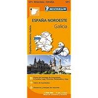 España Noreste. Galicia 1:400.000