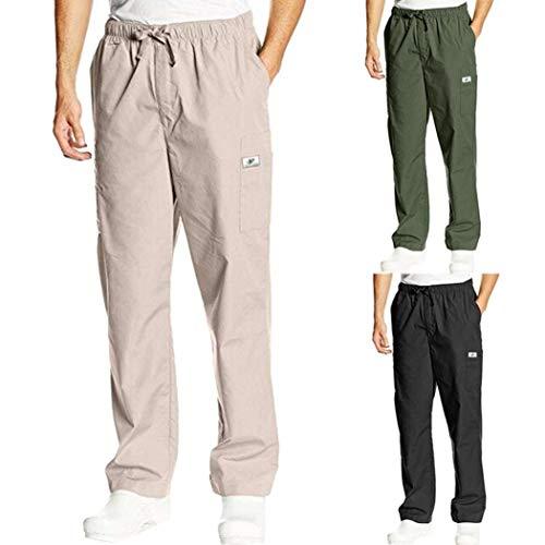 Pantaloni Nero Trevor Leidon Abbigliamento Pantaloncini Larghi Da Uomo Casual Taschino Adelina Sportivi Sciolti dwfZ44