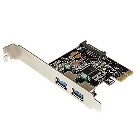Amazon.com: 2rz0826 – StarTech. com Tarjeta PCI Express de 2 ...