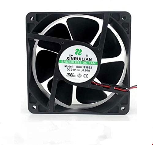 Portable Cooling Fan for Xinrui 12038 RDH1238S2 24V 0.60A RDH1238B2 Inverter Fan Welder Fan