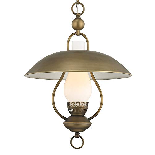 Fifth and Main WL-2314 Odessa Pendant Aged Brass