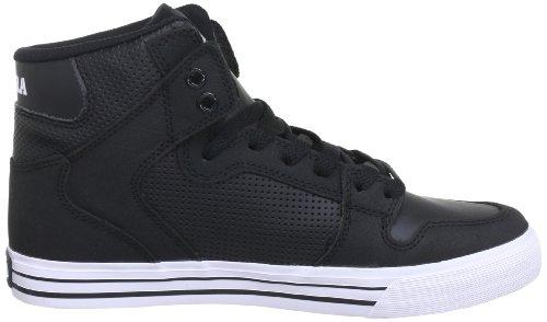 Sneaker Supra Vaider Lc Tuf Nero Nero / Pelle Micorperf Nera