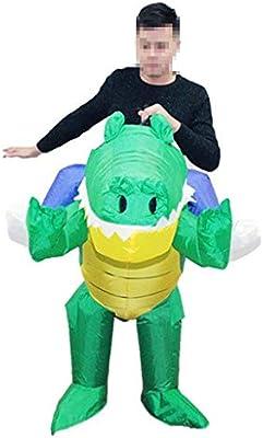 Inflable Adulto de Halloween creativo cocodrilo inflable Traje ...