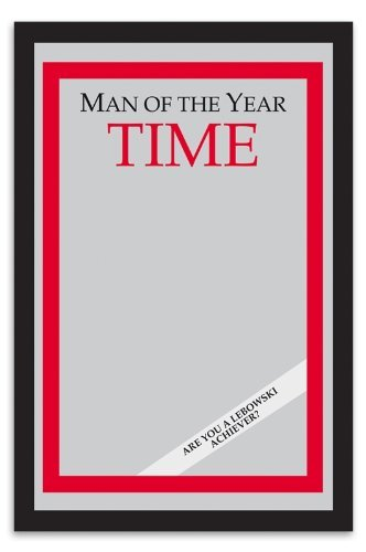 (Merchandiseonline Man of The Year Time Magazine Mirror from The Big Lebowski (9