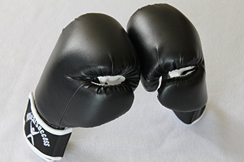 Boxing Gloves for Kids Black 6oz (Fancy Dress Boxing Gloves)