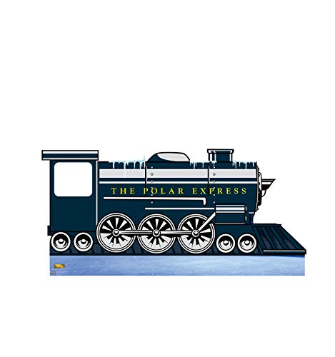 Advanced Graphics Polar Express Train Stand-in Life Size Cardboard Cutout Standup - The Polar Express (2004 Film)