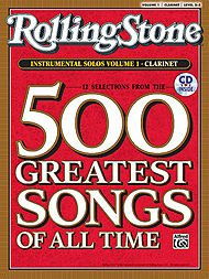 Music Rolling Stone 500 Greatest Songs w/CD - Clarinet for sale  Delivered anywhere in Canada