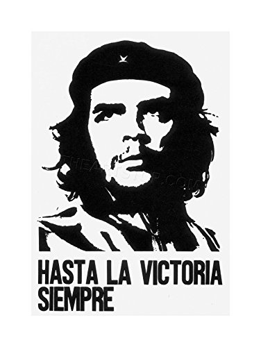 Icon Victory (The Art Stop AD Propaganda Cuba Che Guevara ICON Revolution Victory Framed Print F12X5842)
