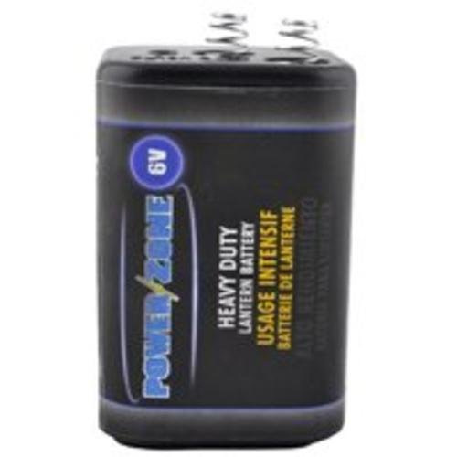 Power Zone 4r25 Heavy Duty Lantern Batteries, 6volt (Pack Of 6)