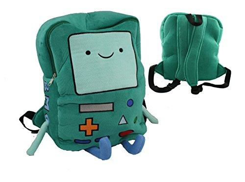 "New 13"" Adventure Time Plush BMO Beemo Backpack Game Xmas Children Bag Christmas Gift Handmade"