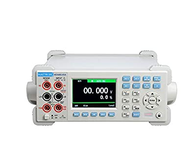 MATRIX Digital Multimeter Bench High Precision 4.5 Digit with Capacitance Measurement MDM-8145A DMM