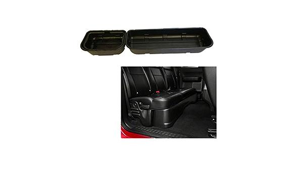 OLINDA 2x Compatible with 15-19 F150 Super Crew Cab Underseat Storage Tool Case Box Portable Basket