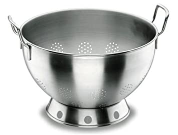 Amazon.com: LACOR 50332 COLANDER WITH STAND 32 CMS.: Kitchen ...