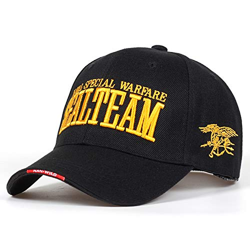 2019 US Navy Seal Team Tactical Cap Mens Army Baseball Cap Gorras Adjustable Bone Snapback Hat Beige at Amazon Mens Clothing store: