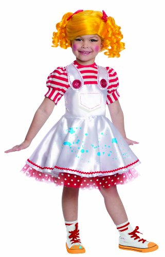 [Lalaloopsy Deluxe Spot Spatter Splash Costume, Small] (Lalaloopsy Costumes For Girls)