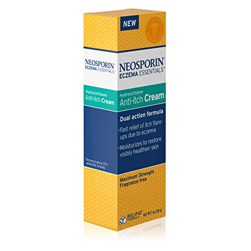 neosporin eczema essentials hydrocortisone anti itch cream 1 oz new ebay. Black Bedroom Furniture Sets. Home Design Ideas