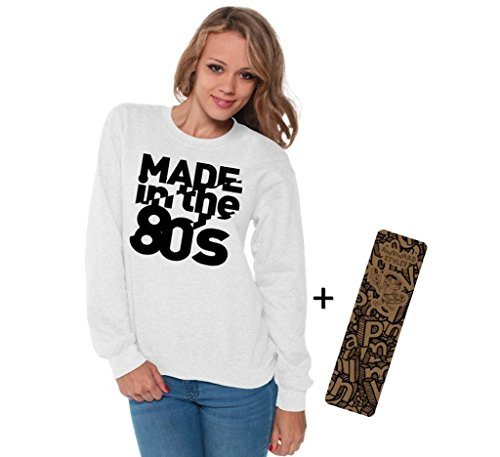 Women's Made in the 80s Crewneck Sweatshirt in 7 Colors - S to 5XL
