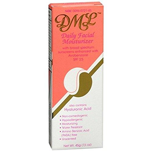 DML Facial Moisturizer SPF 25, 1.5 Oz (3 Pack)