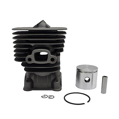 Farmertec Cylinder Piston Kit Fit HUSQVARNA 124 125 128 C E L R LD RDX Engines 545 00 10-01 - 00 Piston Kit