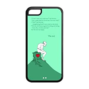 Classic Style Custom Design Hard Rubber Case for iPhone 5c- Giving Tree