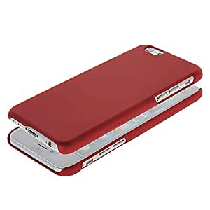 BBOBD Red High Quality Plastic Case Hard Protecting Cover Strong Armor for Apple iPhone 6 Plus (5.5 Inch)
