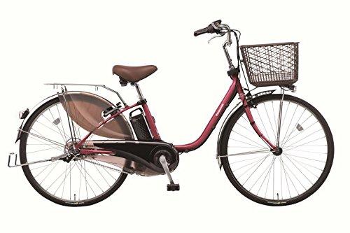 Panasonic(パナソニック) 2018年モデル ビビPX 26インチ BE-ELP634 電動アシスト自転車 専用充電器付 B078K511S9 R:ベリーレッド R:ベリーレッド