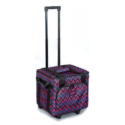 Creative Notions XL Serger Trolley in Chevron Print by creative notion