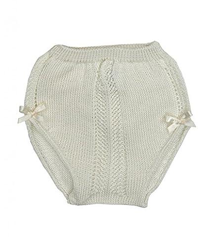 Ranita bebé MAC ILUSION Braguita calada 100% Algodón Crudo