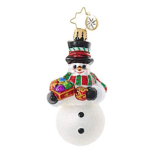 Christopher Radko Frosty's Trimmings Little Gem Ornament ()